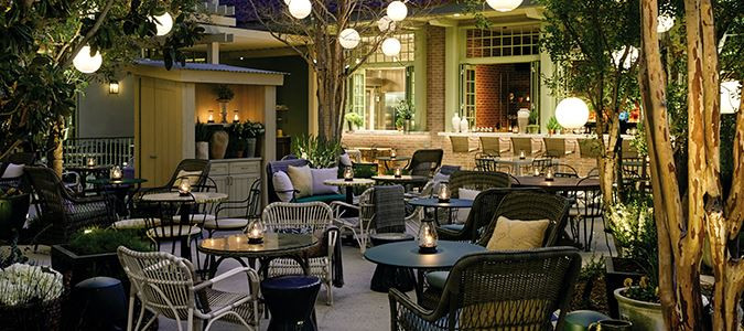 Park MGM Primrose Cafe Garden and Bar 2.