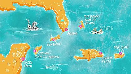 Caribbean Itineraries - Caribbean - Virg