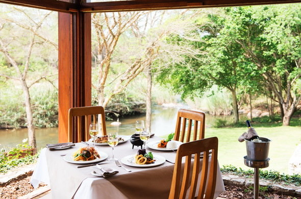 Africa hippo-hollow-country-estate-dinin