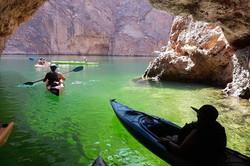 Emerald Cave Kayak Tour on The Colorado