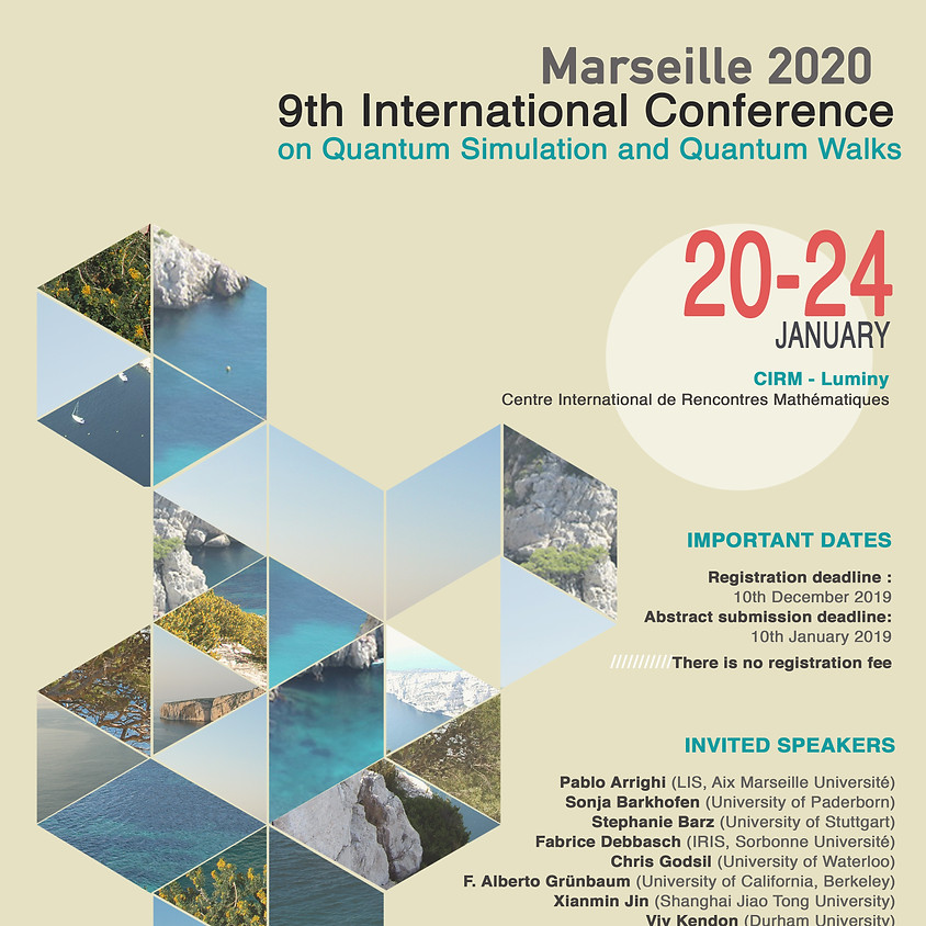9thInternationalConference on Quantum Simulation and Quantum Walk