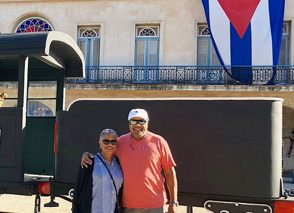 SUPPORT FOR THE CUBAN PEOPLE TOUR