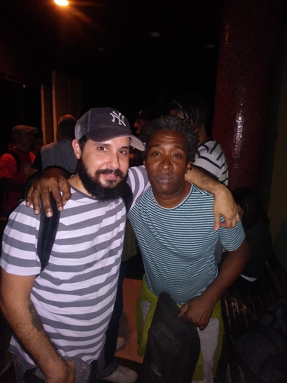 TWO OF CUBA'S BEST JAZZ MUSICIANS OLIVER VALDES+JUAN CARLOS MARIN