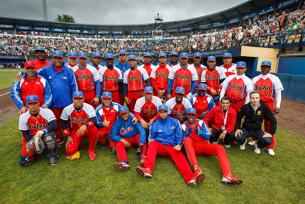 CUBA'S NATIONAL BASEBALL TEAM