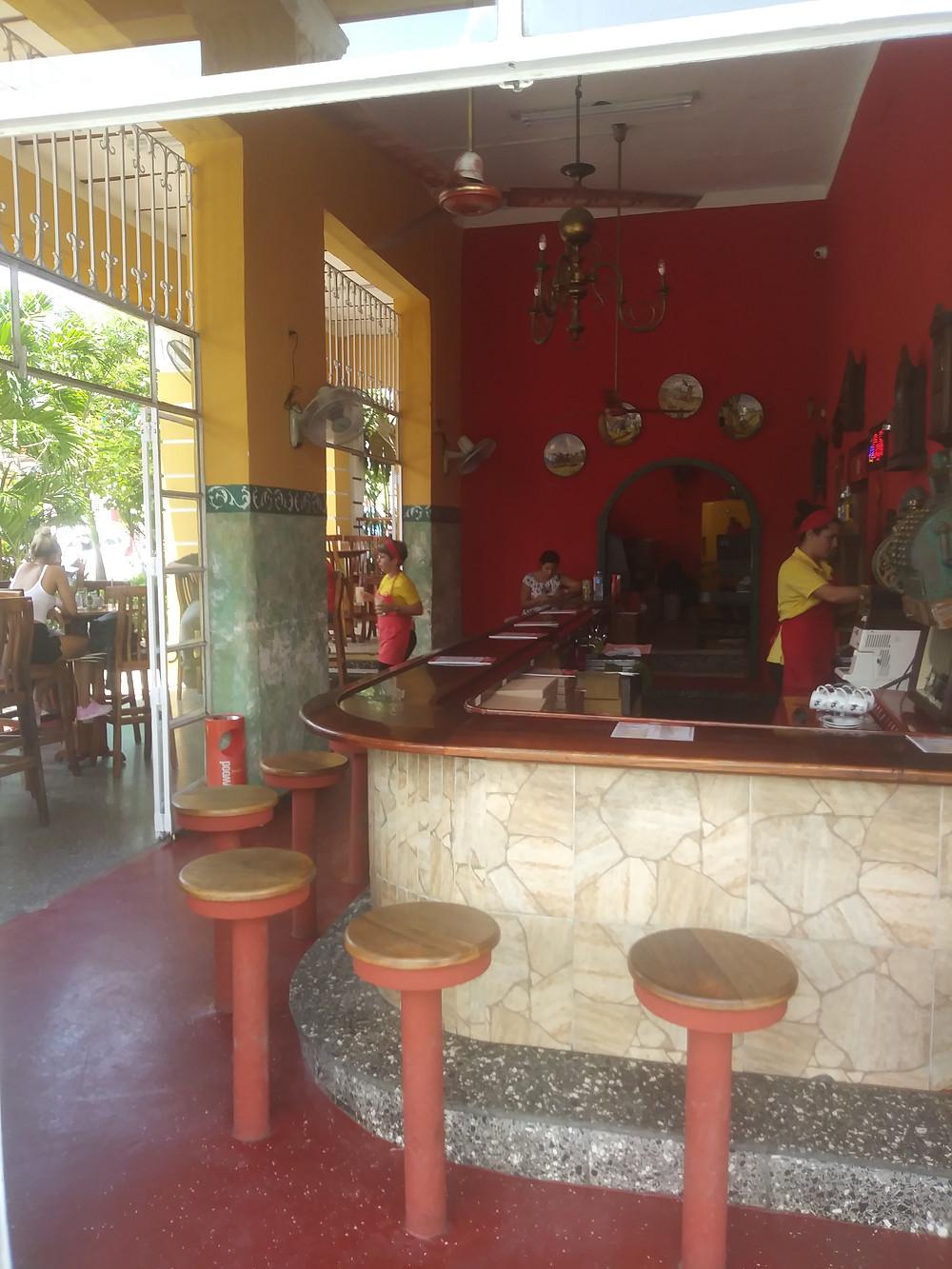 Heredia Restaurant Havana, Cuba Trip