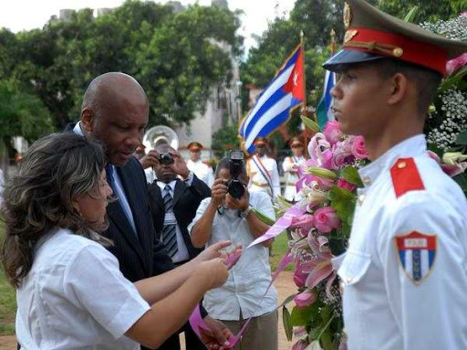 CUBA TRIP FOR KING OF LESOTO