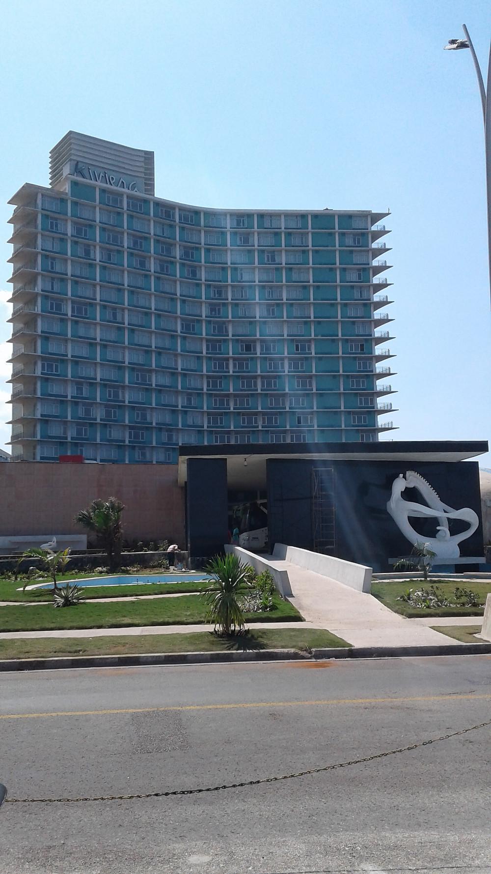 HOTEL RIVIERA IN HAVANA, CUBA