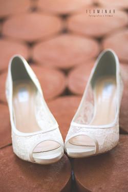 Dia da Noiva - Sapato da Noiva