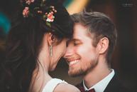 carinho entre os noivos casamento em valinhos