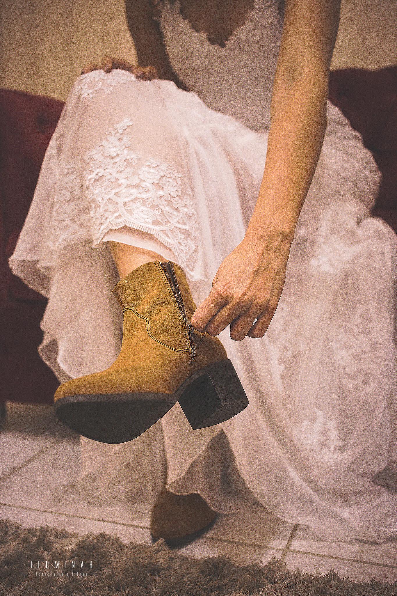 Dia da Noiva - A noiva de Botas