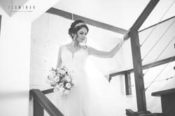 Noiva descendo Escada - Casamento