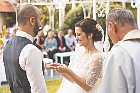 Casamento Espaço Ravena Garden - Cerimonia de Casamento - Troca das Alianças - Mairiporã São Paulo