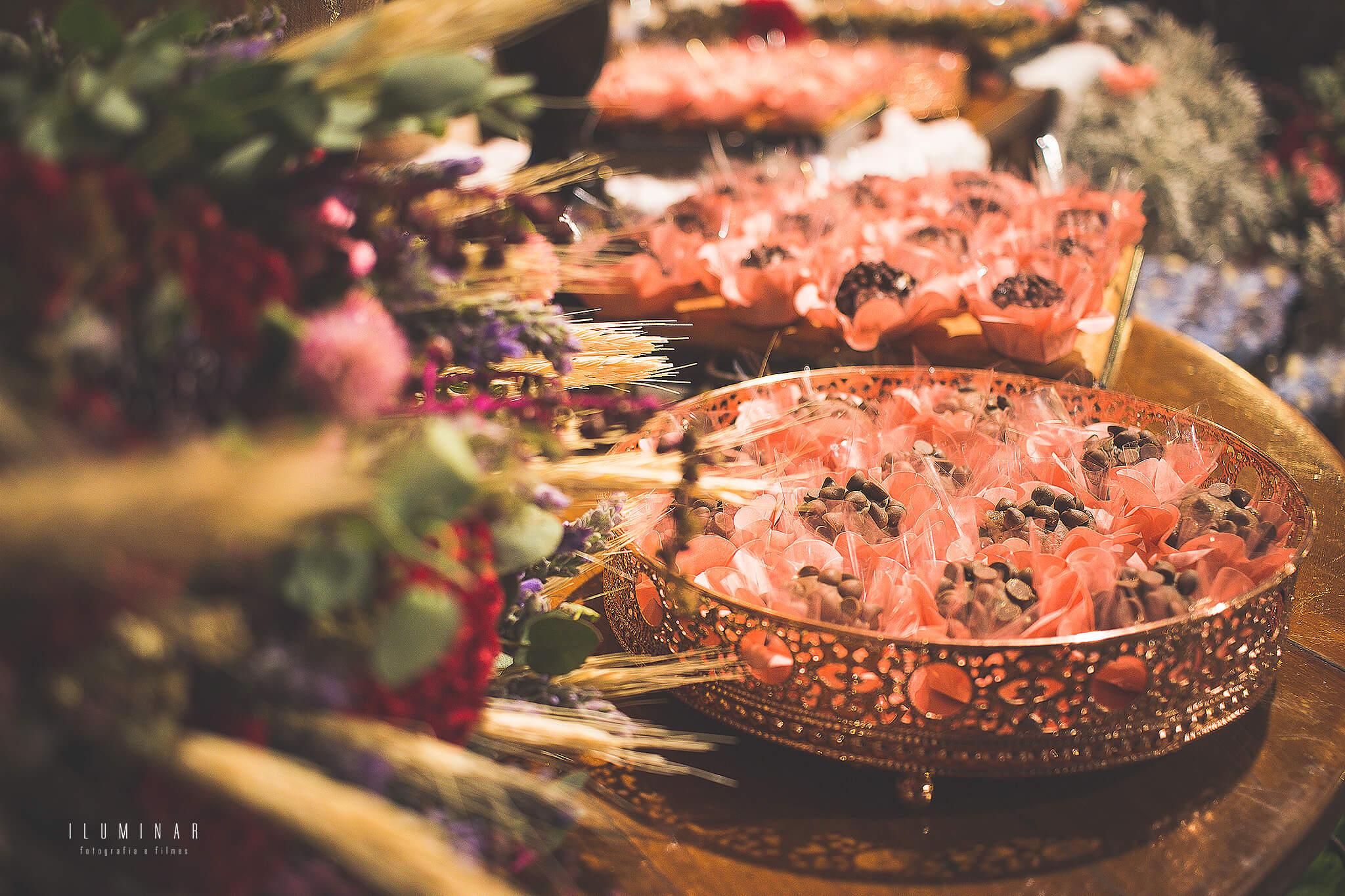 Decoração Mini Wedding - Mesa Doces