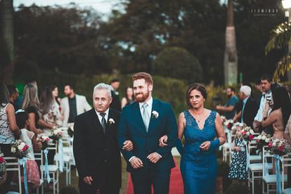 Casamento no Canoa Buffet
