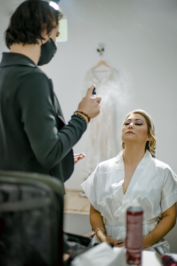 Making of noiva em Jarinu