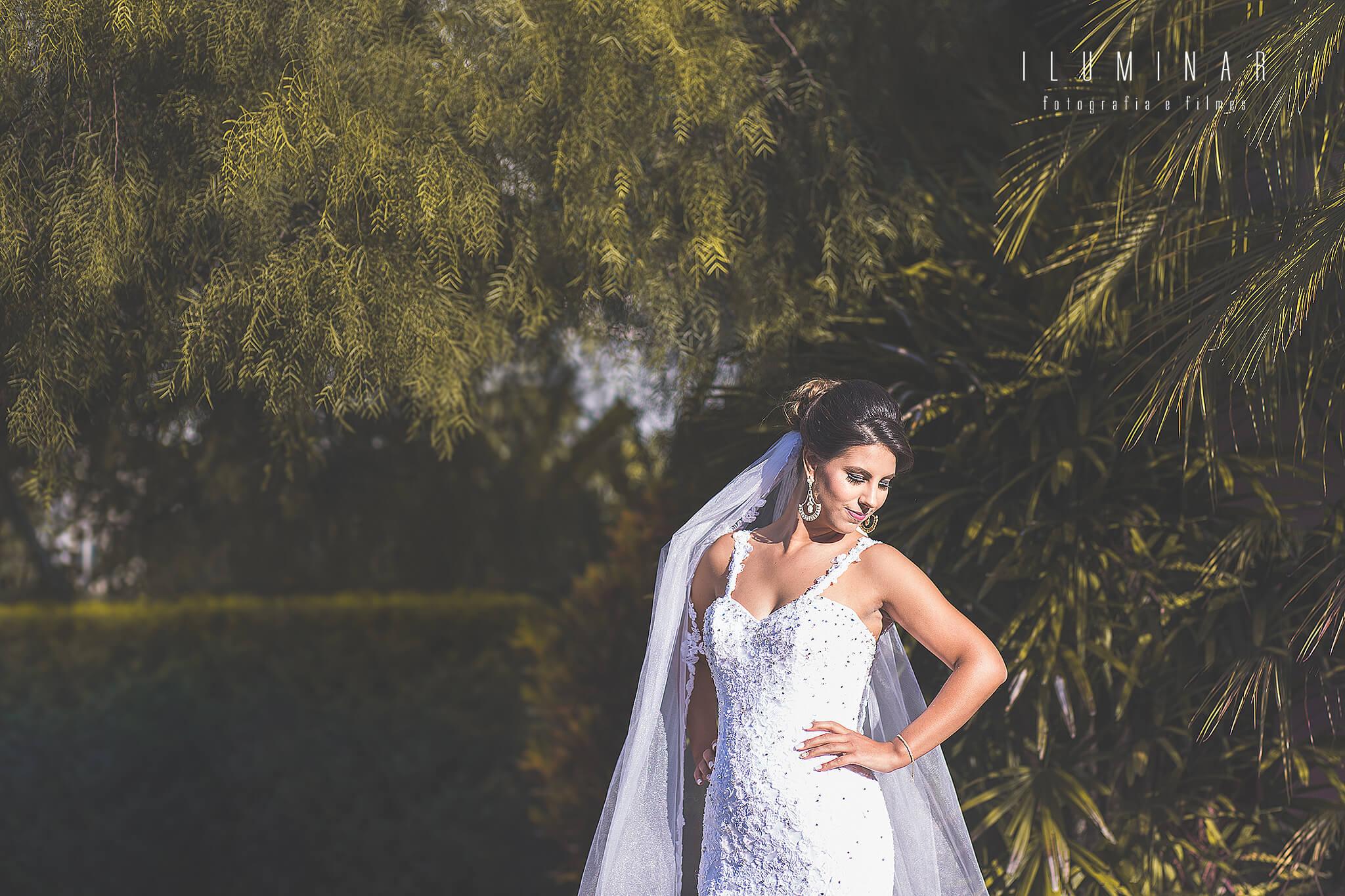 Dia da Noiva - Noiva no Jardim