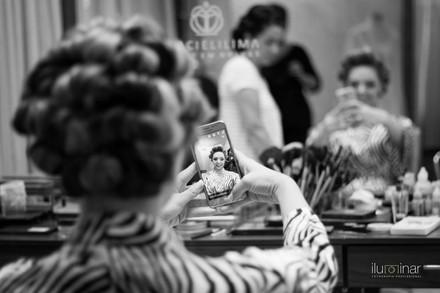 selfie da noiva dia de casamento especial