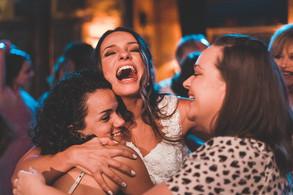 casamento é amizade e alegria