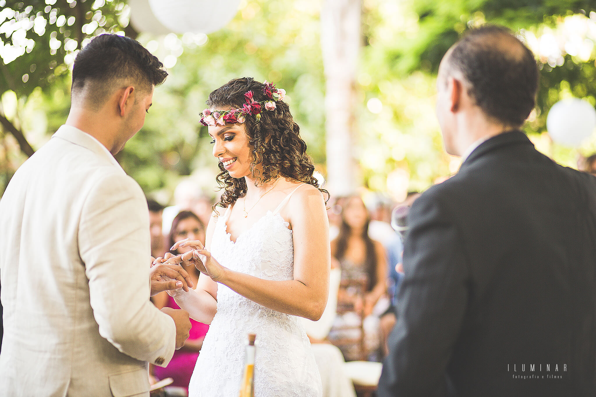 Troca alianca Mini wedding