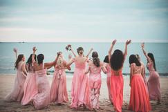 festa das madrinhas casamento na praia