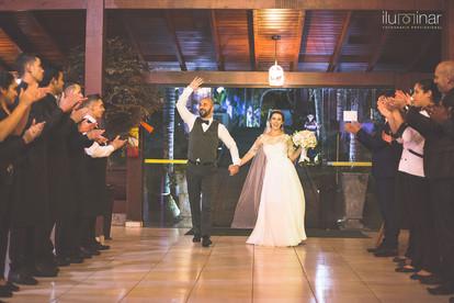 Casamento Espaço Ravena Garden - Entrada dos Noivos - Mairiporã São Paulo