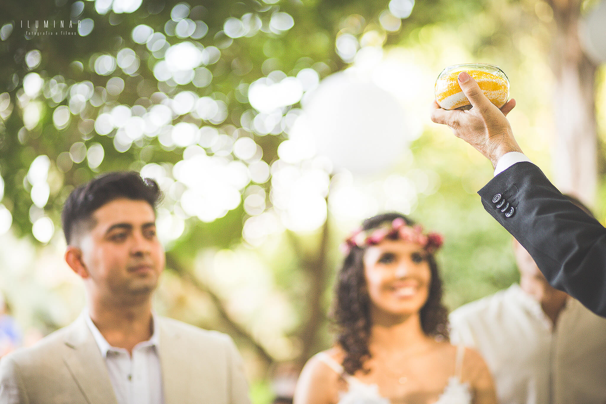 Cerimonia da areia Mini Wedding