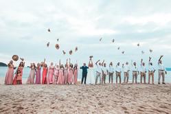 casamento na praia iluminar fotografia e filmes