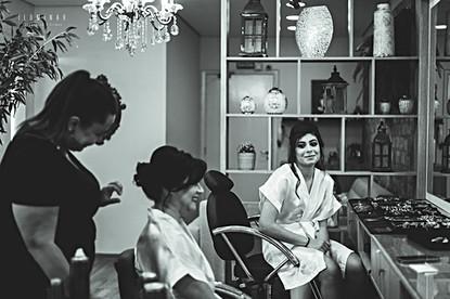 Making of Noiva Elaine Milhomem Jundiaí