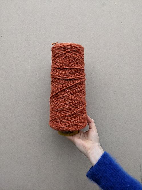 Orange 01 Wool Blend