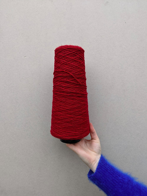 Red 02 Wool Blend