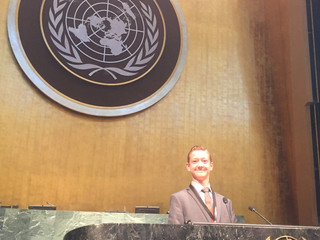 Success Story from Canada - MUN 2016 Assembly UN HQ NYC - Micheal Antifaoff