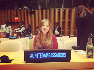 Success story from Colombia - MUN 2016 Assembly UN HQ - RICHMUN - Laura Camila Ortiz