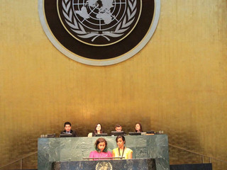 Success story from Egypt - MUN 2016 Assembly UN HQ NYC - GUCMUN: Farah Mourad & Merna Ghaly