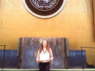 Success Story from Colombia - MUN 2016 Assembly UN HQ NYC - ONUANDES -Daniela María Cabrera Venegas