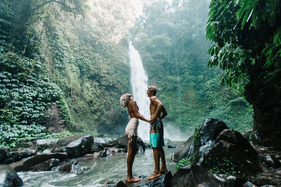Chasing Bali Waterfalls