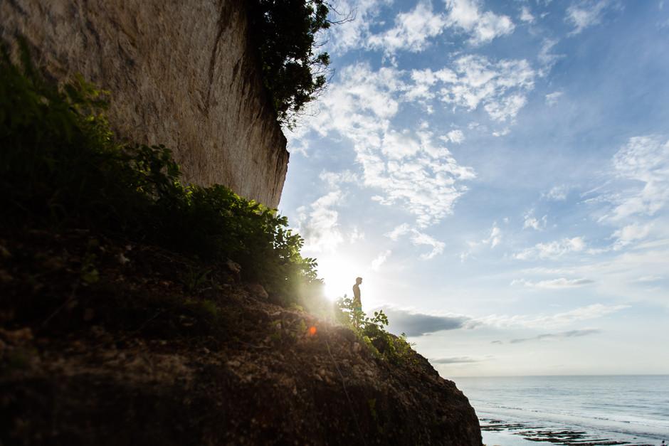 Melasti Beach Sunrise, Bali