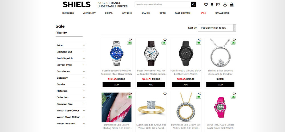 Online Shopping Centre Australia - Shiels