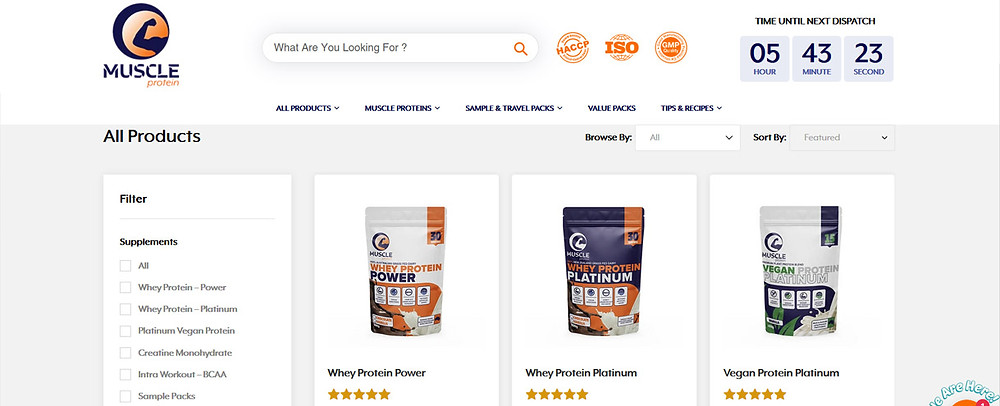 Online Shopping Centre Australia - Muscle Protein