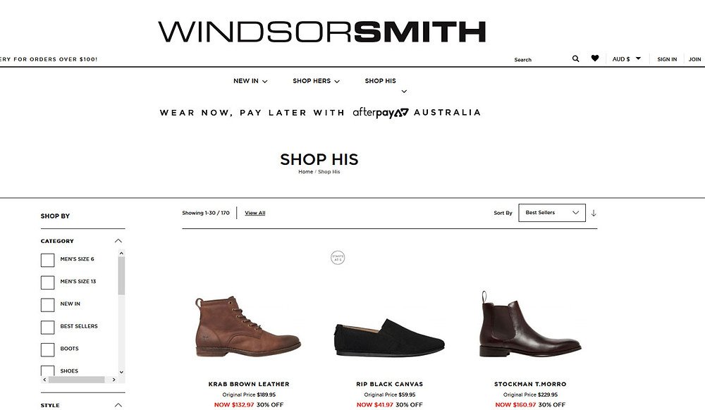 Windsor Smith shoes for men