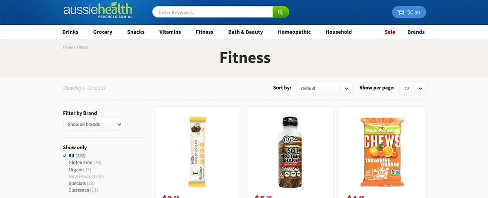 Online Shopping Centre Australia - Aussie Health  Products