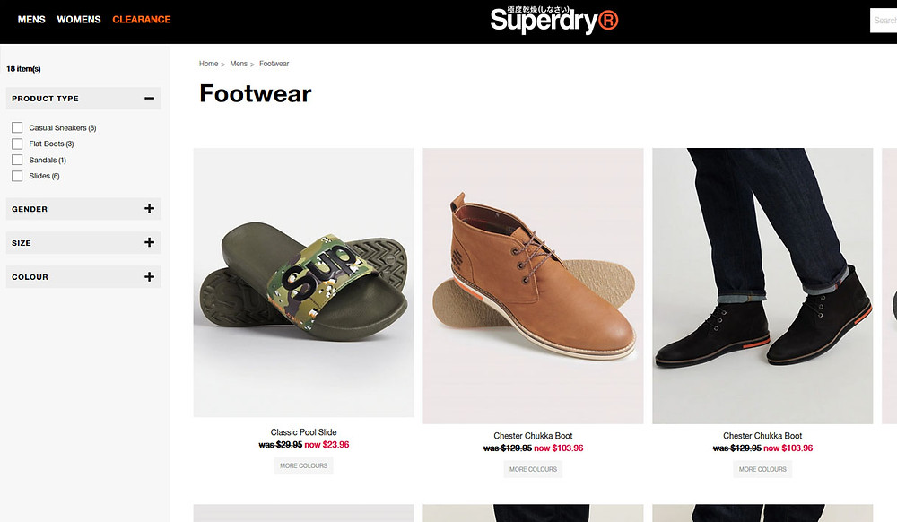 Superdry shoes for men