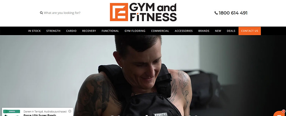 Online Shopping Centre Australia - Gym and Fitness