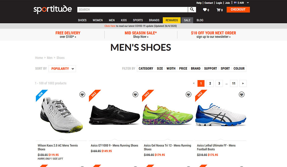Sportitude shoes for men