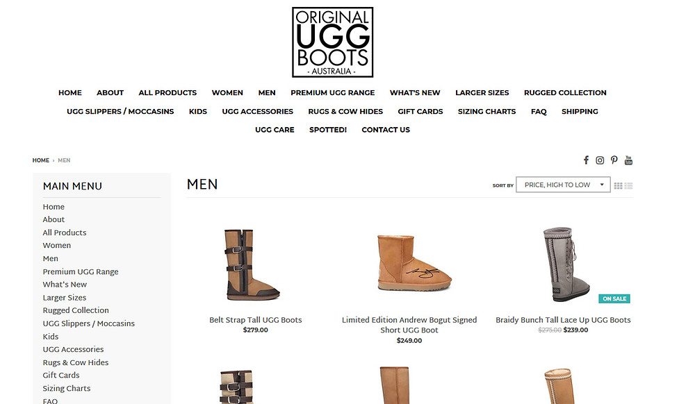 Original Ugg Boots for men