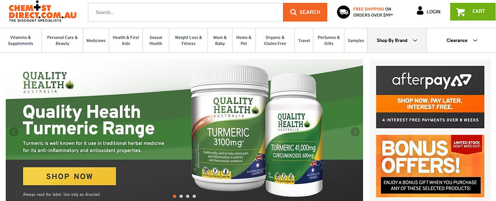 Online Shopping Centre Australia - Chemist Direct