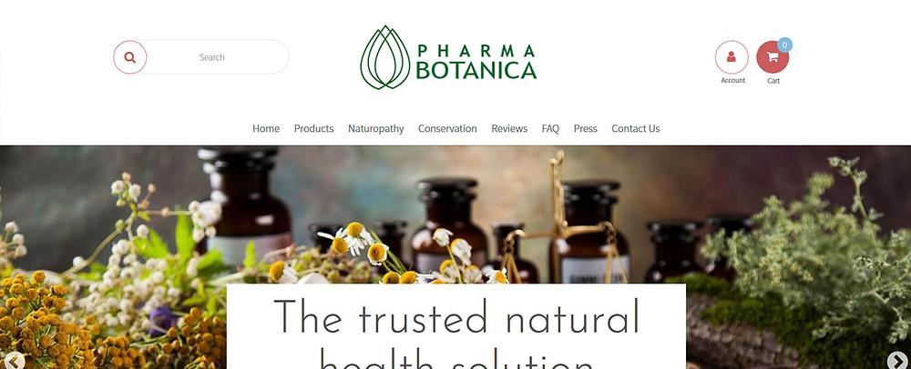 Online Shopping Centre Australia - Pharma Botanica