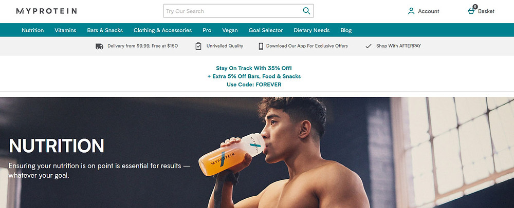 Online Shopping Centre Australia - My Protein