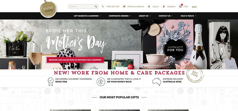 Online Shopping Centre Australia - Gourmet Basket