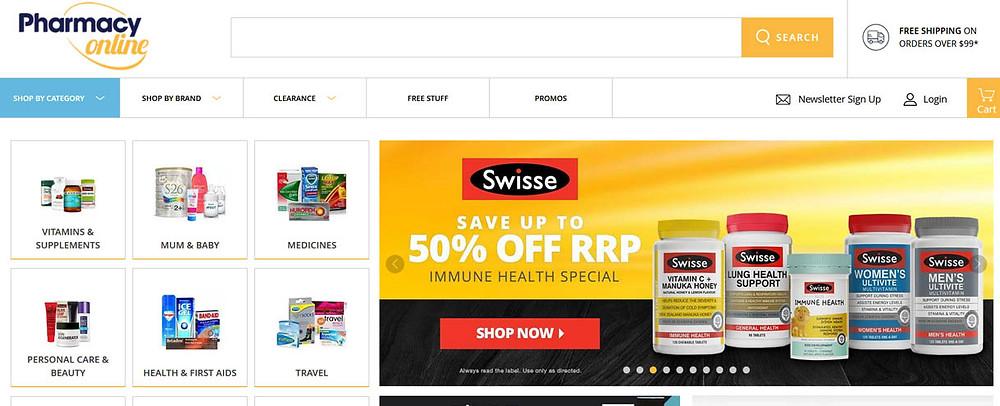 Online Shopping Centre Australia - Pharmacy Online