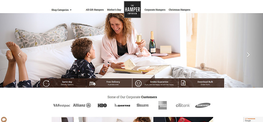 Online Shopping Centre Australia - The Hamper Emporium
